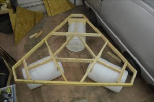 Float Test Frame